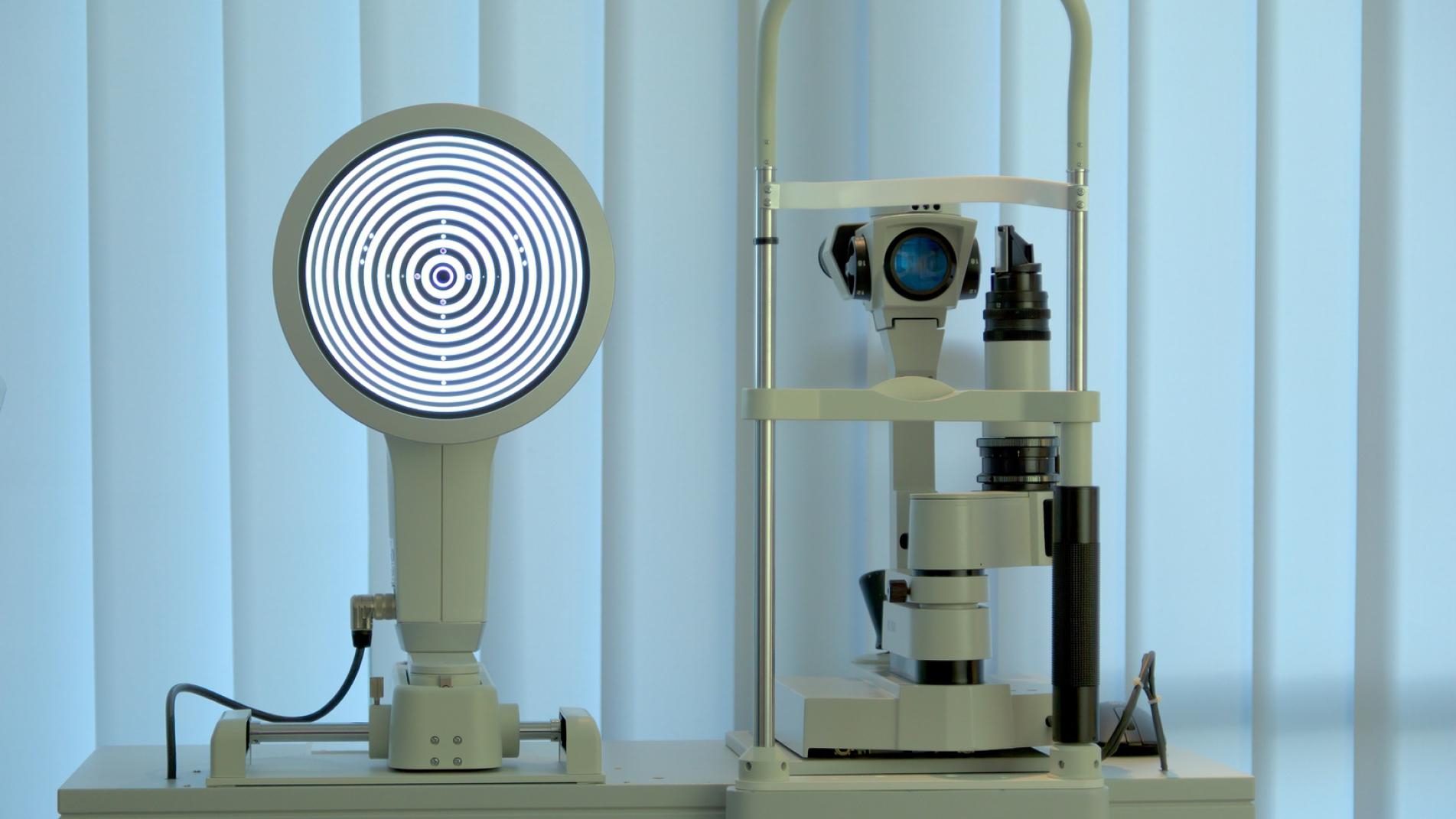 Augenmessung mit dem OCULUS Keratograph 5M